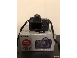 New Canon EOS 5D Mark IV Digital SLR Camera