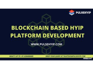 Right Time to Acquire Blockchain Hyip Software!