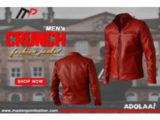 Fashion Leather Jacket for Men's