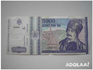 Exchange/sale of romania currency at a reduce face value