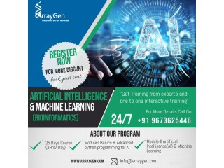 Artificial Intelligence (AI) and Machine Learning Training