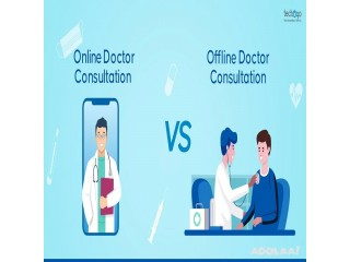 Online Doctor Consultation vs Offline- Which one's more convenient?