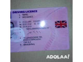 Good quality passports ,drivers license ,id cards and birth certificate