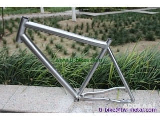 Titanium Mountain Bicycle Frame