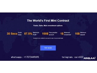 Recruiting promoters of BTC contract trading platform