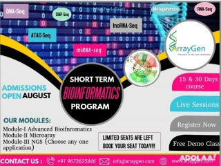 Become an expert in Bioinformatics & NGS