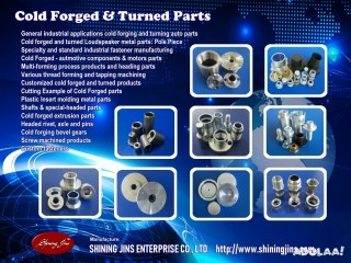 Fasteners and Rivets made in Taiwan