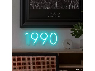 Order Personalised Year LED Neon Tubing From Little Rae Neon Signs