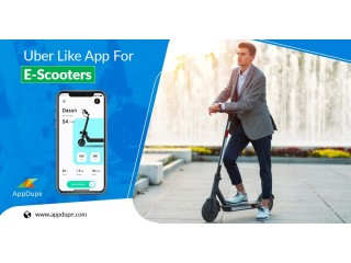 Attract Customers with Uber like App for E-Scooters
