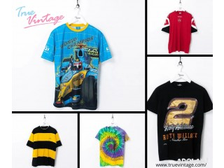 Look Fashionable with T-shirts of True Vintage