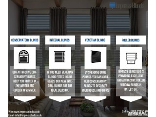 Impress Blinds will help you in home decor