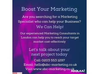 Experienced Marketing Consultants in London