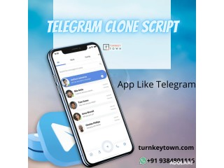 Build the Replica of App Like Telegram with Turnkeytown