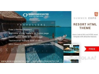 Hotel Booking Website Templates