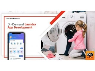 Find Top Notch Laundry App Development Company in the USA