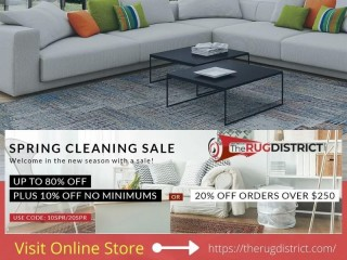 Browse Premium Quality Area Rugs in Spring Season Sale