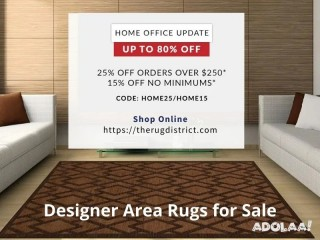 Discover Latest Collection of Rugs with up to 80% Off