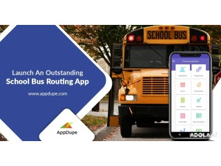 Maintain fleets from a single place with a school transportation app