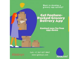 Hire Best Grocery Delivery App Development Company in USA