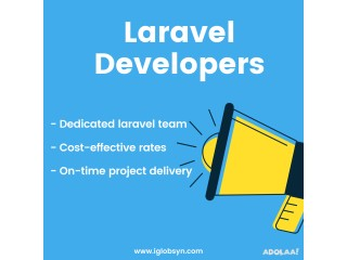 Looking for Dedicated Laravel Developers?
