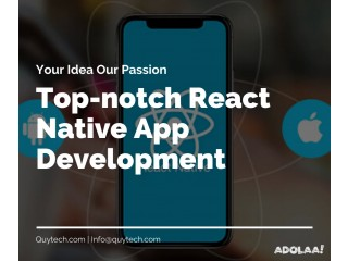 Top React Native App Development Company in USA
