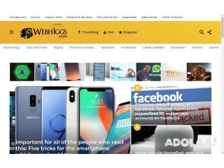 Webhiggs Magazine - Latest Digital & Tech News | Global IT Trends & Product Revi