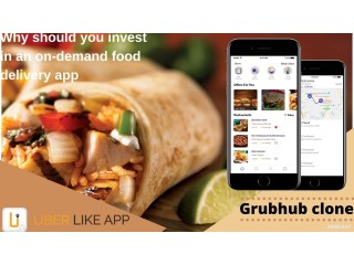 Why should you get a Grubhub clone app for your business?
