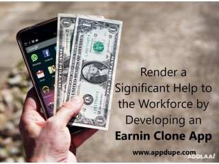 Render a Significant Help to the Workforce by Developing an Earnin Clone App
