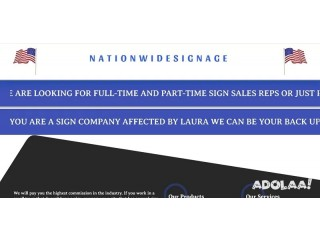 Sign Sales Rep or Refer Sign Business