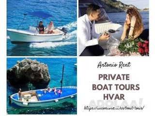Boat Tours Hvar - Antonio Rent