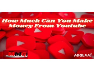 How Much Can You Make Money From Youtube