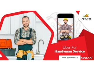 Let the handyman get innumerable gigs using Uber for the handyman