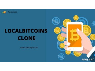 Purchase a clone script for your LocalBitcoins venture
