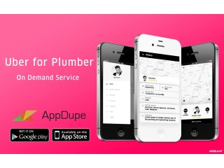 Get plumbing services on time using uber for plumbers apps
