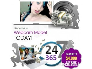 Become a Webcam Model TODAY!
