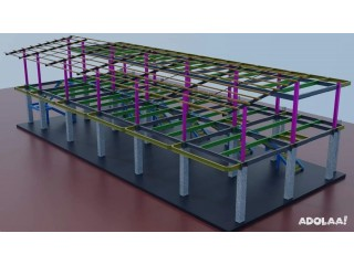 Structural Steel Detailing Services | Silicon EC Limited