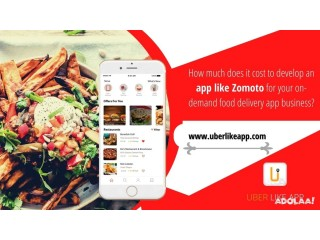 Streamline the potential of on-demand food delivery services with an app like Zomato