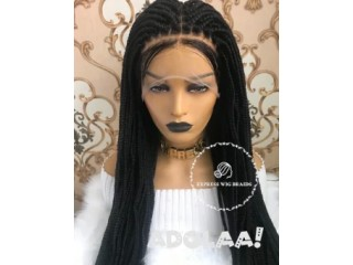 Braided lace wigs