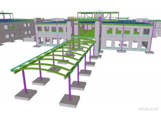 Structural steel detailing services | Steel Detailing Companies