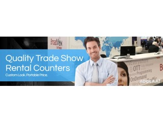 Light weight Trade Show Counter at Exhibit People
