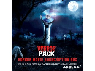 4 Horror Movies on DVD or Blu-ray