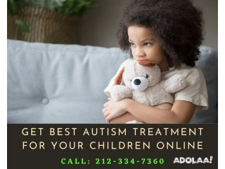 Get Best Autism Treatment for Your Children Online