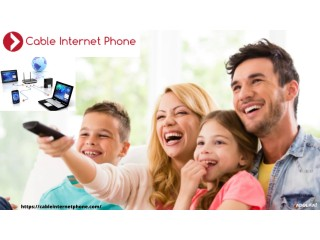 Best Cable service providers in your area | Cable Internet Phone