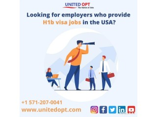 Is there an easy way to get H1b visa jobs in the USA?