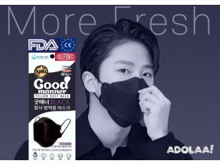 Good Manner KF94 Black Mask