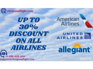 Plan your trip with CheapUsaFlight and get up to 30% discount*