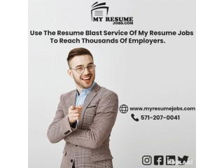 A smart resume builder by My Resume Jobs will get you a job this time.