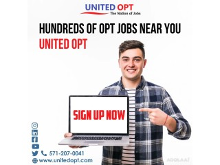 Looking for OPT jobs in USA?