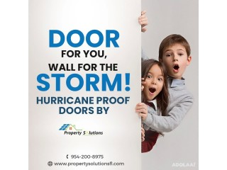 Door For You, Wall For The Storm!