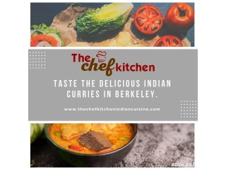 Forget worries and eat delicious Indian curries at The Chef Kitchen.